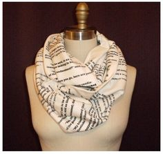 Les Miserables quote scarf!!!!!!!!! OMG @mauracoughlin we need these
