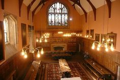 Dining/Lecture hall (Eton College Hall)