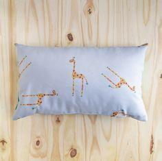 Giraffe Print Cushion Cover  30 x 50cm by TuguTitoune on Etsy