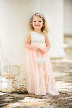 Blush, melocotón, coral, menta, Seafoam, Gris, Negro, Marfil vestido de niña de las flores / vestidos para ocaciones especiales