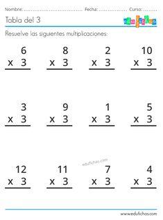3rd Grade Math Worksheets, Multiplication Worksheets, Maths Puzzles, 1st Grade Math, Pre Writing, Writing Lessons, Writing Activities, Abacus Math, Teaching English Grammar