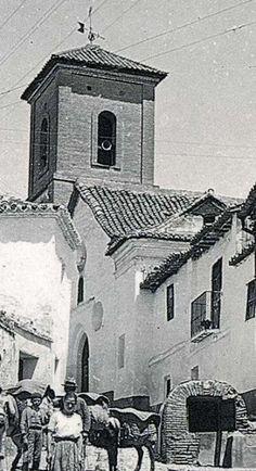 Iglesia y aljibe de San Luis, 1910