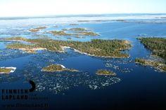 Inarijärvi. Photo by Courtesy of Northern Lapland Tourism ltd. #filmlapland #arcticshooting #finlandlapland