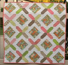 free pattern for baby quilts | ... most favorite sizes of quilts to make are baby quilts its really