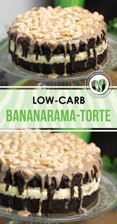 Die Bananarama-Torte ist lowcarb, glutenfrei und superlecker. Da Bananen von Natur viel Zucker haben, habe ich mit Aroma gearbeitet.
