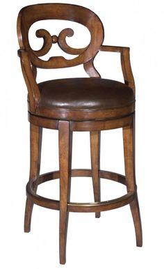 Safavieh Home Furnishings - Waxed Cherry Swivel Bar Stool, Call for pricing (http://www.safaviehhome.com/barstool-waxed-cherry-swivel-bar-stool/7044-02)