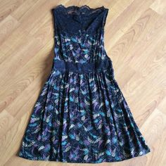 Free People dress Cute dress with lace detail. Free People Dresses