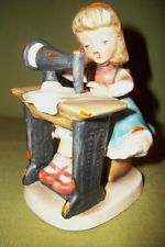 Napco Vintage Ceramic Figurine Blond Girl Seated at Sewing Machine Japan Vintage Ceramic, Bookends, Japan, Ceramics, My Favorite Things, Blond, Cute, Handmade, Etsy