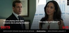 Are you just getting that ... #suits Suits USA
