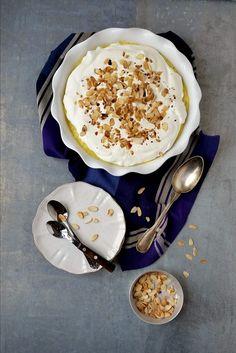 Doce Brilhante - Basta Cheio Waffles, Pancakes, Dessert Recipes, Desserts, Recipies, Cheesecake, Pudding, Bread, Ethnic Recipes