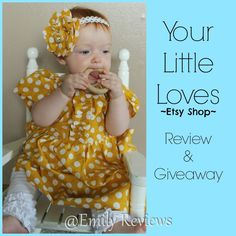 Your Little Loves ~ Unique Custom Clothing Review & item of choice #giveaway (ends 7/16)