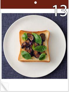大人気の「毎日トースト!」。8月は夏食材たっぷりメニューで元気をチャージ!