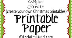 We are sharing a few Christmas  digital freebies today!   They're printable papers ( JPG forma t) , 8x10 in size, and ready for you to...