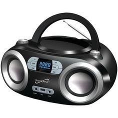 Supersonic Portable Bluetooth Audio System (black)
