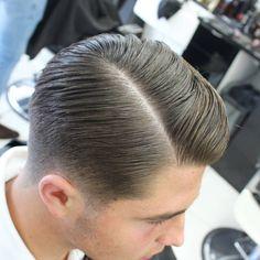 "Brad's Barbers on Instagram: ""low tapered edge  BARBERS REQUIRED  MESSAGE FOR MORE INFORMATION  @britishbarbersgotstyle @barbertalent @londonschoolofbarbering…"""