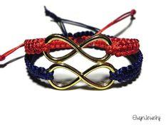 Matching Infinity Bracelets by ElwynJewelry