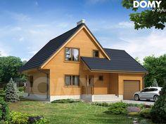 Wizualizacja projektu domu Stokrotka 2 dr-S