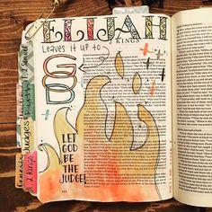 2 Kings Let God be the judge! Scripture Art, Bible Art, Bible Scriptures, Bible Journal, Journal Art, Art Journals, Bible Pictures, Bible Encouragement, Illustrated Faith