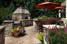 Custom Outdoor Pizza Oven Outdoor Kitchen Wood Landscape Services Hilliard, OH