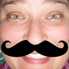 Movember mustache!