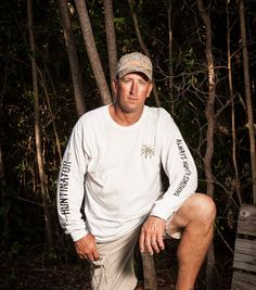 Men's apparel with both brands together . Huntinator brand and Always Hunt'n Something brand at Huntinator.com
