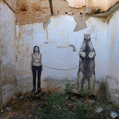 Hyuro New Mural In Albacete, Spain StreetArtNews