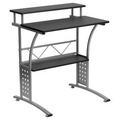 Clifton Black Computer Desk - Flash Furniture : Target