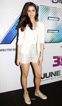 Shraddha Kapoor at the trailer launch of 'ABCD 2'.