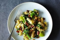 The Splendid Table's Pasta with Two Broccolis & Raisin-Pine Nut Sauce on Food52