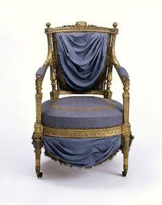 Marie Antoinette Artifacts | Marie Antoinette's Chair