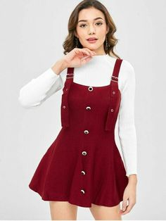8e3ac43a359c Find the latest and trendy styles of pinafore at ZAFUL . We are pleased you  with the latest trends in high fashion pinafore.