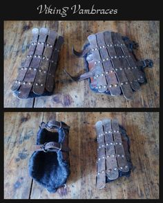 Viking vambraces by carlviking on DeviantArt