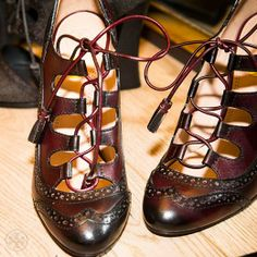 my kinda shoes (although I could do with less of a heel) via Tory Burch