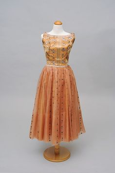 Evening Dress, 1950s, Ethel de Saussure. University of Hawaii Museum