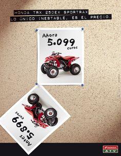 Gráfica Prensa / Honda Motos / TRX250 EX Sportrax juannavarro.jnt@gmail.com