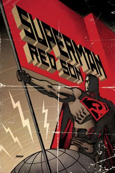 Well, DC comics is putting out a hardback edition of my old Superman Red Son Mini series (that I didn't finish) so here for your edification is the. Artwork Superman, Arte Do Superman, Superman Red Son, Superman Man Of Steel, Batman Vs Superman, Lana Lang, Arthur Curry, Dc Comics, Lois Lane