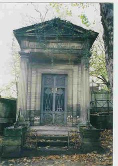 Mausoleum at Pere Lechaise Cemetery
