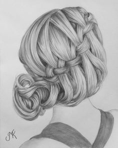hair UP draw