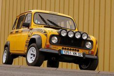 Renault 4 - I love the concept of driving slow cars fast.