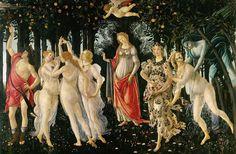 Sandro Botticelli - La Primavera Spring, Uffizi