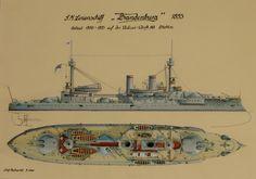 Acorazado Brandenburg 1893