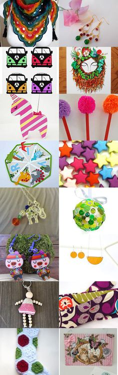 Colourful Finds Of All Kinds by Vivienne Wilkes on Etsy--Pinned+with+TreasuryPin.com