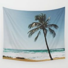 By the Beach  Wall Tapestry