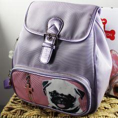 Nylon Mini Backpack Pug