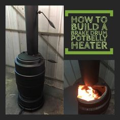 Brake Drum Potbelly Heater : 13 Steps (with Pictures) - Instructables Old Trucks, Drums, Projects To Try, Wood, Outdoor Decor, Free Range, Fun, Stove, Pictures