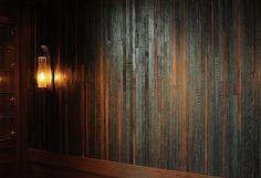 Leather Belt Walls.  Ranch Restaurant, California, 2011.