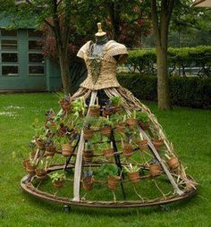 Dress garden would so love this in my garden : -) love it