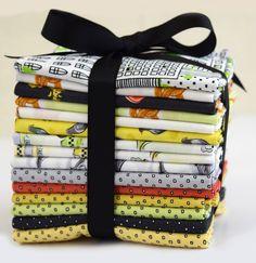 City Life fat quarter bundle from Ink & Arrow Fabrics
