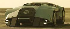 Eric Lloyd Brown: Near future Death Racer concept car