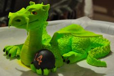 Another dragon cake topper